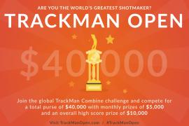 TRACKMAN OPEN-賞金総額$40,000世界中のゴルファーに挑戦権-