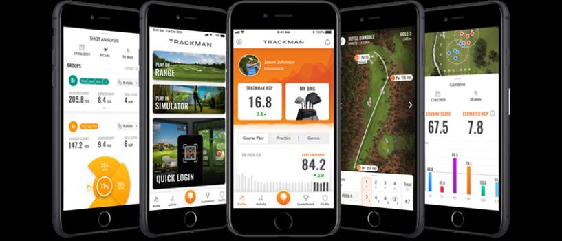 バージョンアップしたTrackMan Golf アプリ